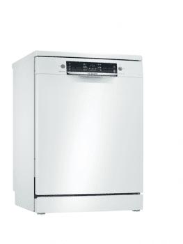 Lavavajillas Bosch SMS46JW06E Blanco de 60 cm con 12 servicios | Motor EcoSilence clase A++ | Serie 4