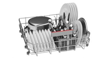 Lavavajillas Bosch SMS46JW06E Blanco de 60 cm con 12 servicios | Motor EcoSilence clase A++ | Serie 4 - 3