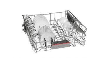 Lavavajillas Bosch SMS46JW06E Blanco de 60 cm con 12 servicios | Motor EcoSilence clase A++ | Serie 4 - 4