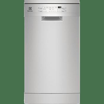 Lavavajillas Electrolux ESA22100SX | Inox | 45 cm | 9 cubiertos | Secado AirDry | Motor Inverter | Clase F