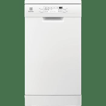 Lavavajillas Electrolux ESA22100SW Blanco de 45 cm con 9 cubiertos | Secado AirDry | Motor Inverter Clase A+