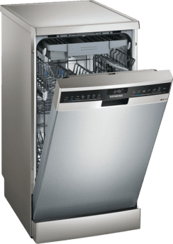 Lavavajillas Siemens SR23HI65ME Inoxidable antihuellas de 45 cm para 10 servicios | Función varioSpeed+ | WiFi Home Connect | Clase A+ | iQ300