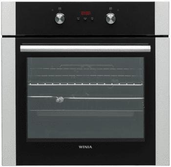Horno Winia WKBE-V65CA Negro de 60cm con 69L | Con Grill y 7 Funciones de cocción | Clase A