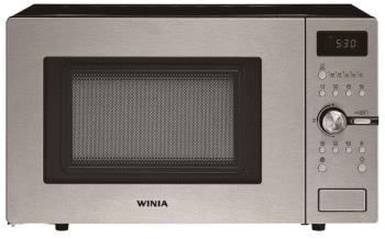 Microondas Winia WKOC-9Q5T Inox de 28L con 10 niveles de potencia a 900 W | Grill a 1200 W