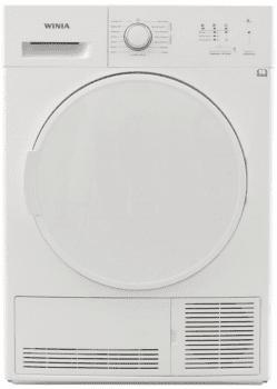 Secadora Winia WVR-08CF1WW Blanca de Condensación con 8Kg | Clase B