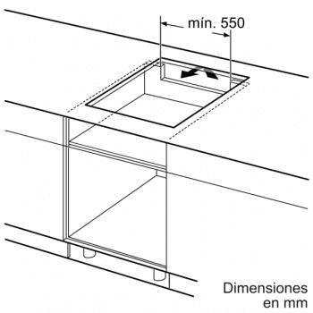 Placa de Inducción Balay 3EB865ERS   60 cm   3 Zonas - Max. 28 cm - 6