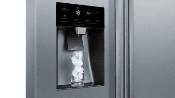 Frigorífico Americano Bosch KAD93AIEP Inox antihuellas de 178.7 x 90.8 cm No Frost | Dispensador agua y hielo | Motor Inverter A++ | Serie 6 - 4