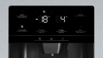Frigorífico Americano Bosch KAD93AIEP Inox antihuellas de 178.7 x 90.8 cm No Frost | Dispensador agua y hielo | Motor Inverter A++ | Serie 6 - 5