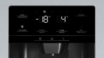 Frigorífico Americano Bosch KAD93AIEP Inox antihuellas de 178.7 x 90.8 cm No Frost | Dispensador agua y hielo | Motor Inverter | Clase F | Serie 6 - 5