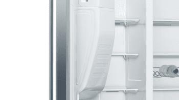 Frigorífico Americano Bosch KAD93AIEP Inox antihuellas de 178.7 x 90.8 cm No Frost | Dispensador agua y hielo | Motor Inverter A++ | Serie 6 - 8