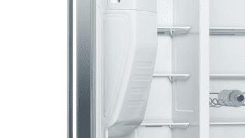 Frigorífico Americano Bosch KAD93AIEP Inox antihuellas de 178.7 x 90.8 cm No Frost | Dispensador agua y hielo | Motor Inverter | Clase F | Serie 6 - 8