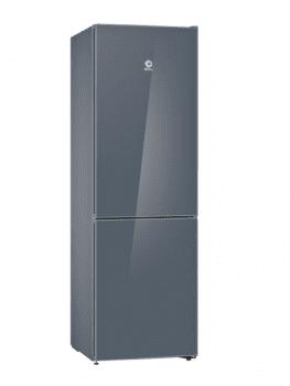 Frigorífico Combi Balay 3KFE565GI de 186x60cm | Gris Antracita | cajón ExtraFresh | Libre Instalación | Clase A++