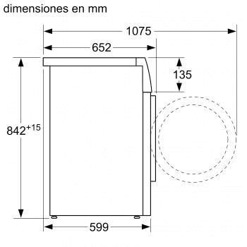 Secadora Balay 3SB188BP Blanca de 8Kg con Bomba de Calor | Clase A++ - 7