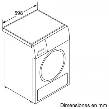 Secadora Balay 3SB188BP Blanca de 8Kg con Bomba de Calor | Clase A++ - 8