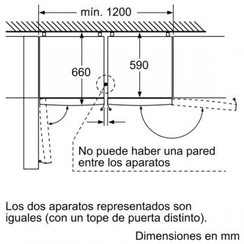 Frigorífico Combi Balay 3KFE566WE de 186x60cm | color Blanco | Libre instalación | NoFrost | Clase E - 9
