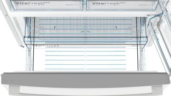 Frigorífico Combi Bosch KGB86AIFP XXL Inox antihuellas de 186 x 86 cm No Frost | Clase F | Serie 6 - 5