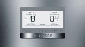 Frigorífico Combi Bosch KGN39HIEP Inoxidable antihuellas de 204 x 60 cm No Frost | WiFi Home Connect | Clase E | Serie 6 - 2