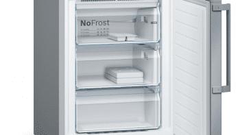 Frigorífico Combi Bosch KGN39HIEP Inoxidable antihuellas de 204 x 60 cm No Frost | WiFi Home Connect | Clase E | Serie 6 - 5