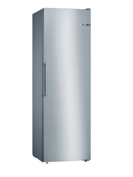 Congelador Vertical Bosch GSN36VIFP Inoxidable antihuellas de 186 x 60 cm No Frost | Motor Inverter Clase A++ | Serie 4 - 1