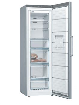 Congelador Vertical Bosch GSN36VIFP Inoxidable antihuellas de 186 x 60 cm No Frost | Motor Inverter Clase A++ | Serie 4 - 2