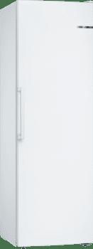 Congelador Vertical Bosch GSN36VWFPBlanco de 186 x 60 cm | No Frost | Motor Inverter Clase F | Serie 4