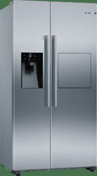 Frigorífico Americano KAG93AIEP Inoxidable antihuellas de 178.7 x 90.8 cm No Frost con Dispensador en puerta | Motor Inverter Clase A++ | Serie 6