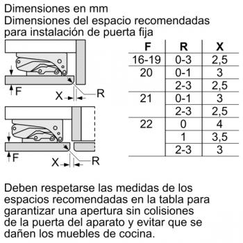 Congelador integrable bajo encimera de Balay 3GUF233S | 82 x 59.8 cm | Clase A+ - 2