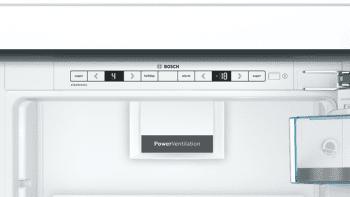 Frigorífico Combi Bosch KIN86AFF0 Integrable de 177.2 x 55.8 cm | Motor Inverter Clase A++ | Serie 6 - 3