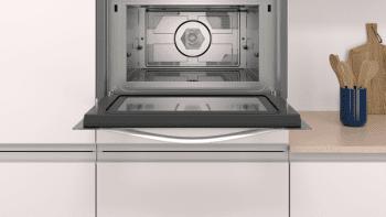 Horno compacto con microondas Balay 3CW5179B0 de 60 cm   Blanco   15 recetas AutoChef   5 funciones  Aqualisis - 3
