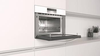 Horno compacto con microondas Balay 3CW5179B0 de 60 cm   Blanco   15 recetas AutoChef   5 funciones  Aqualisis - 4