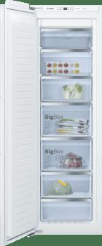 Congelador Vertical Bosch GIN81AEF0 1P Integrable de 177.2 x 55.8 cm No Frost | Motor Inverter Clase A++ | Serie 6