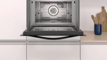 Horno compacto con microondas Balay 3CW5179N0 | 60cm | Color Negro | 15 recetas AutoChef | Limpieza Aqualisis - 3