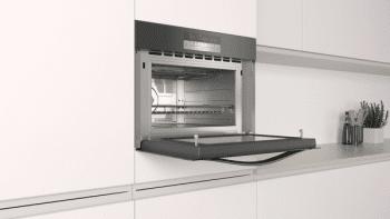 Horno compacto con microondas Balay 3CW5179N0 | 60cm | Color Negro | 15 recetas AutoChef | Limpieza Aqualisis - 4