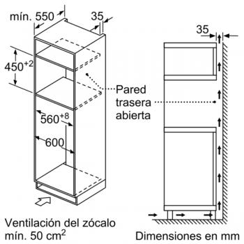 Horno compacto con microondas Balay 3CW5179N0 | 60cm | Color Negro | 15 recetas AutoChef | Limpieza Aqualisis - 5