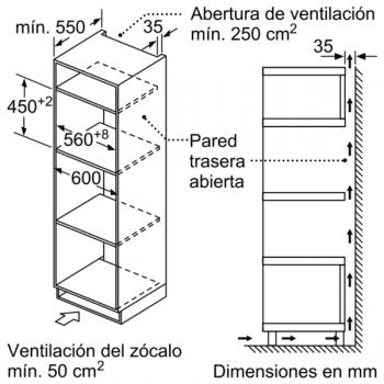 Horno compacto con microondas Balay 3CW5179N0 | 60cm | Color Negro | 15 recetas AutoChef | Limpieza Aqualisis - 6