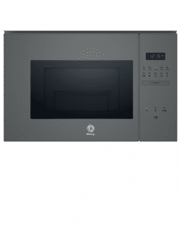 Microondas integrable Balay 3CG5175A0 de 60cm | Color Gris | Plato de 31,5 cm | Programas automáticos