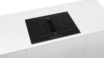 Placa de Inducción Bosch PVQ731F25E de 70 cm a 622 m³/h con 2 Zonas de cocción combinadas | Con campana integrada | Clase B - 2