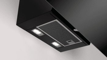 Campana decorativa Balay 3BC586GN de 80cm | Color Negro | 670 m3/h | Control Táctil - 3