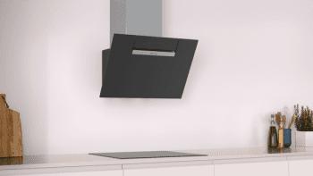 Campana Decorativa Balay 3BC566GN de 60cm | Cristal Negro | Control Táctil | Encastrable - 2