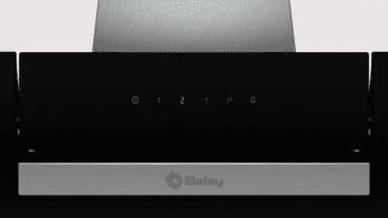 Campana Decorativa Balay 3BC566GN de 60cm | Cristal Negro | Control Táctil | Encastrable - 3
