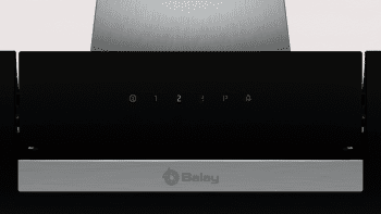 Campana Decorativa Balay 3BC566GN de 60cm | Cristal Negro | Control Táctil | 398.0 m³/h| Encastrable | STOCK - 4