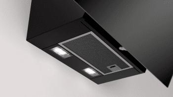 Campana Decorativa Balay 3BC566GN de 60cm | Cristal Negro | Control Táctil | Encastrable - 4
