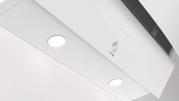 Campana Decorativa Balay 3BC585GB de 80cm | Cristal Blanco | 629 m3/h | Encastrable - 4