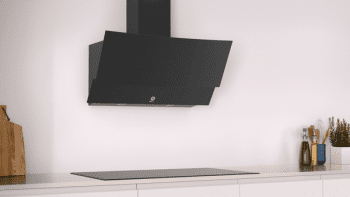 Campana Decorativa Balay 3BC585GN de 80cm | Cristal Negro | Control Táctil | Encastrable - 2