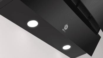 Campana Decorativa Balay 3BC585GN de 80cm | Cristal Negro | Control Táctil | Encastrable - 4