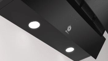 Campana Decorativa Balay 3BC585GN de 80cm   Cristal Negro   Control Táctil   Encastrable - 5
