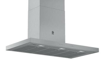 Campana Decorativa Balay 3BC998AXD de 90cm | Encastrable | Acero tras Cristal | Control Placa-Campana - 1