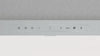 Campana Decorativa Balay 3BC998AXD de 90cm | Encastrable | Acero tras Cristal | Control Placa-Campana - 3