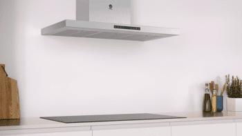 Campana Decorativa Balay 3BC998HX de 90cm | Acero Inoxidable | Encastrable |  Control Táctil |Clase A+ - 4