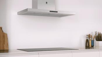 Campana Decorativa Balay 3BC997GX de 90cm | Acero Inoxidable | Control Táctil | Encastrable | Clase A+ - 5